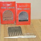 New JON RENAU Wig Care Accessories, 2 Wig Liners, Wire Brush, Comb/Pick