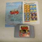Pokemon Snap Nintendo N64 Video Game Cartridge w/ Unused Sticker Label Sheet