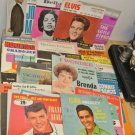 Lot 37 Vintage 45 RPM Record Sleeves ONLY, Elvis, Cole, Avalon, Mathis, Orbison