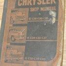 Vtg 1940's CHRYSLER Repair Manual, C28, C30, C33, C34, C36, C37, C38, C39, C40