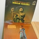 2 1960's MIRIAM MAKEBA Vinyl LP 33 RPM Sleeved Record Albums, RCA Victor