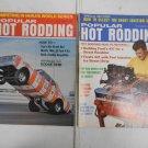 Lot 2 Vintage 1967 Popular Hot Rodding Magazines July & November