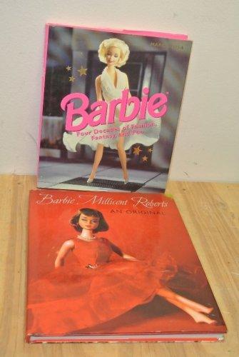 2 BARBIE Books, Barbie Millicent Roberts An Original, Barbie Four Decades
