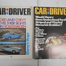 Lot 2 Vintage Car and Driver Auto Magazines August & September 1970
