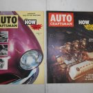 Lot 2 Vintage Auto Craftsman Auto Magazines 1956 & 1957 in Great Shape