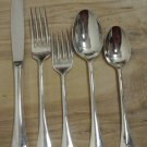 60 Pc INTERNATIONAL Silverplate 5 Pc Flatware Place Settings for 12, ST. REGIS