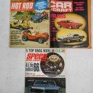 Lot 3 Vintage Car Auto Magazines Speed Custom 1965, Car Craft & Hot Rod 1970