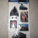 1983 New Retro KNIGHT RIDER PUFFY STICKERS, David Hasselhoff, KITT, Trans Am