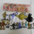 Large Star Wars Toy Collectible Lot, Episode I Dangler Set, Kenner LFL Figures