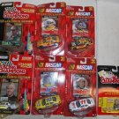 7 Nascar Racing Champions Chase the Race Diecast Toys, Burton, Riggs, Hamilton..