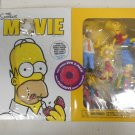 New Sealed Simpsons Movie DVD 2-Pack Collectible Set w/ Family Figurines, 2007
