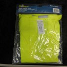 "New ANSI Class 2 Level 2 Safety Vest 2"" Reflective Tape Sz Large 100% Polyester"