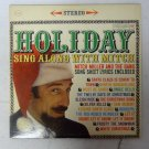 Holiday Sing Along With Mitch Miller Vintage Christmas Record Album CS 8501