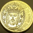 Rare Gem Unc Romania 2011 50 Bani~Incredible Details~King~Mircea The Great~Fr/sh