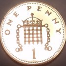 Proof Great Britain 1987 Penny~See Why Proofs Are The Best~Free Shipping