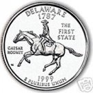 1999-D DELAWARE GEM UNC STATE QUARTER~FREE SHIPPING INC