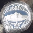 SILVER CAMEO ENCAPSULED PROOF NETHERLANDS 1986 MEDALLION~FREE SHIPPING~