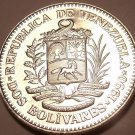 Large Gem Unc Venezuela 1990 2 Bolivares~We Have Unc South American Coins~Fr/Shi