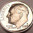 1984-S SUPER PROOF ROOSEVELT DIME~SCARCE DATE~FREE SHIP
