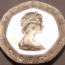 Super Cameo Proof Great Britain 1984 20 Pence~Only 107,000 Minted~Free Shipping