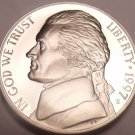 United States Cameo Proof 1997-S Jefferson Nickel~Free Shipping