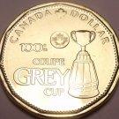Gem Uncirculated Canada 2012 Loonie Dollar~100th Grey Cup~Free Shipping~