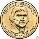 GEM BU THOMAS JEFFERSON 2007-P DOLLAR~FREE SHIP~NICE~