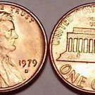UNCIRCULATED 1979-D LINCOLN CENT~NICE PRICE~FREE SHIP~