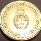 Gem Unc Argentina 2011 10 Centavos~We Have Gem Unc Coins From South America~F/S