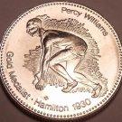 Large Gem Unc Canadian Percey Williams Gold Medalist~World Record Holder~Fr/Ship