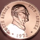 Rare Proof South Africa 1976 5 Cents~Only 7,000 Ever Minted~Blue Crane~Free Ship