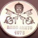 Rare Gem Proof Vatican 1975 .800 Silver Medal~Pope Paul VI~3,500 Minted~Free Shi