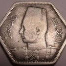 Scarce Silver Egypt AH1363 (1944) 2 Piastres~32,000 Minted~Free Shipping