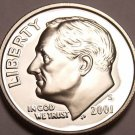 SUPER 2001-S PROOF CAMEO AWESOME ROOSEVELT~~FREE SHIP~~
