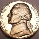 Gem Proof 1969-S Thomas Jefferson Nickel~See All Our Proof Jeffersons~Free Ship