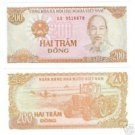 VIETNAM 200 DONG AWESOME NOTE GEM UNCIRCULATED~FR/SHIP~