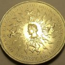 Massive Unc Great Britain 1980 25 Pence~The Queen Mothers 8th Birthday~Free Ship