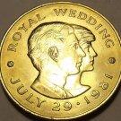 Massive Jersey 1981 2 pounds~Wedding Of Charles & Diana~July 29, 1981~Free Ship~