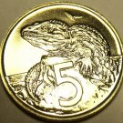 Proof New Zealand 1969 5 Cents~Tautara~Only 50,000 Minted~Free Shipping
