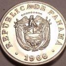 Rare Proof Panama 1966 5 Centesimos~See All Our Panama Proofs~Free Shipping