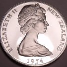 Cameo Proof New Zealand 1974 10 Cents~See Y Proofs Are Best~8k Minted~Free Ship