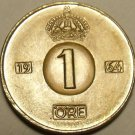 Sweden Brillaint Uncirculated 1964-U Ore~Bronze Coin~Free Shipping