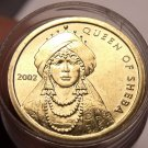 Gem Unc Roll (45 Coins) Somalia 2002 100 Shilling Coins~The Queen Of Sheba~Fr/S