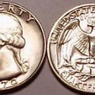 1970-P GEM BRILLIANT UNC WASHINGTON QUARTER~FREE SHIPPING INCLUDED~