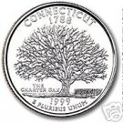1999-P CONNECTICUT BRILLIANT UNC STATE QUARTER~FREE SHI