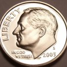 2003-S PROOF CAMEO AWESOME ROOSEVELT DIME~FREE SHIPPING
