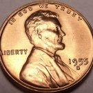 United States 1955-S Unc Lincoln Wheat Cent~Free Shipping