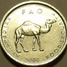 Unc Somalia 1999 F.A.O. Issue 10 Shillings~Camel~Free Shipping~1st Year Ever*