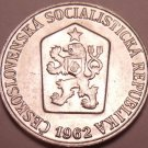 Gem Unc Czechosovakia 1962 5 Haleru~1st Year Ever~Czech lion~Free Shipping