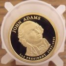 CAMEO PROOF ROLL(10) 2007-S JOHN ADAMS PRESIDENTIAL DOLLARS~FREE SHIPPING~